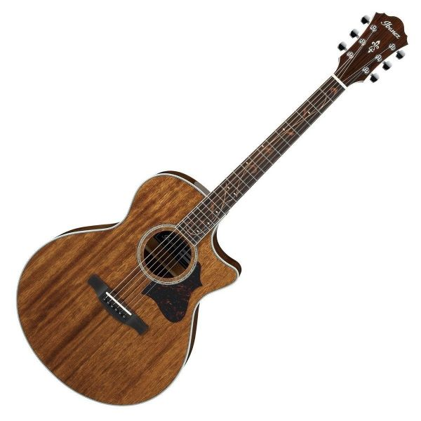 Ibanez AE245 Mahogany Electro Acoustic Guitar, Natural High Gloss - AE245-NT
